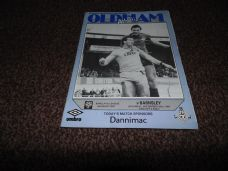 Oldham Athletic v Barnsley, 1987/88